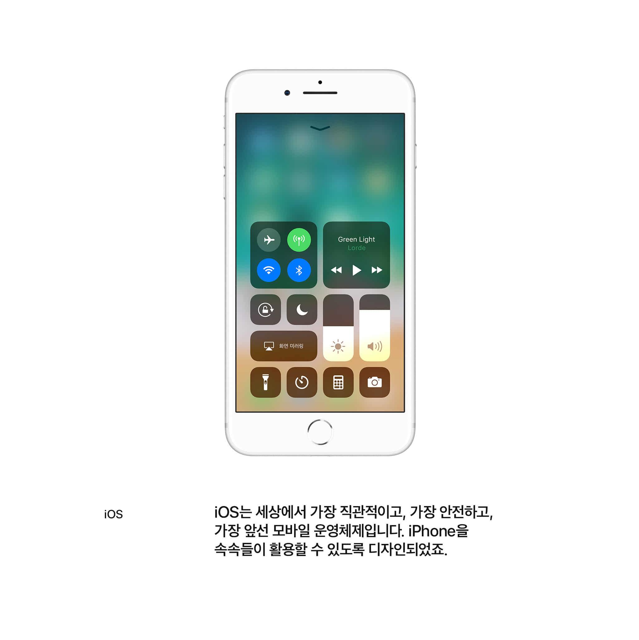 ios ios는 세상에서 가장 직관적이고, 가장 안전하고, 가장앞선 모바일 운영체제입니다. iPhone을 속속들이 활용할 수 있도록 디자인되었죠.